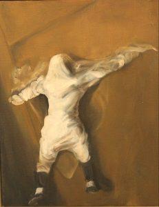 "Katrina series: 6 (2005) Oil on canvas 14.75"" x 12.75"""
